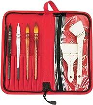 Silver Brush Atelier 7 Piece Watercolor Brush Set Paintbrush - Q-8888