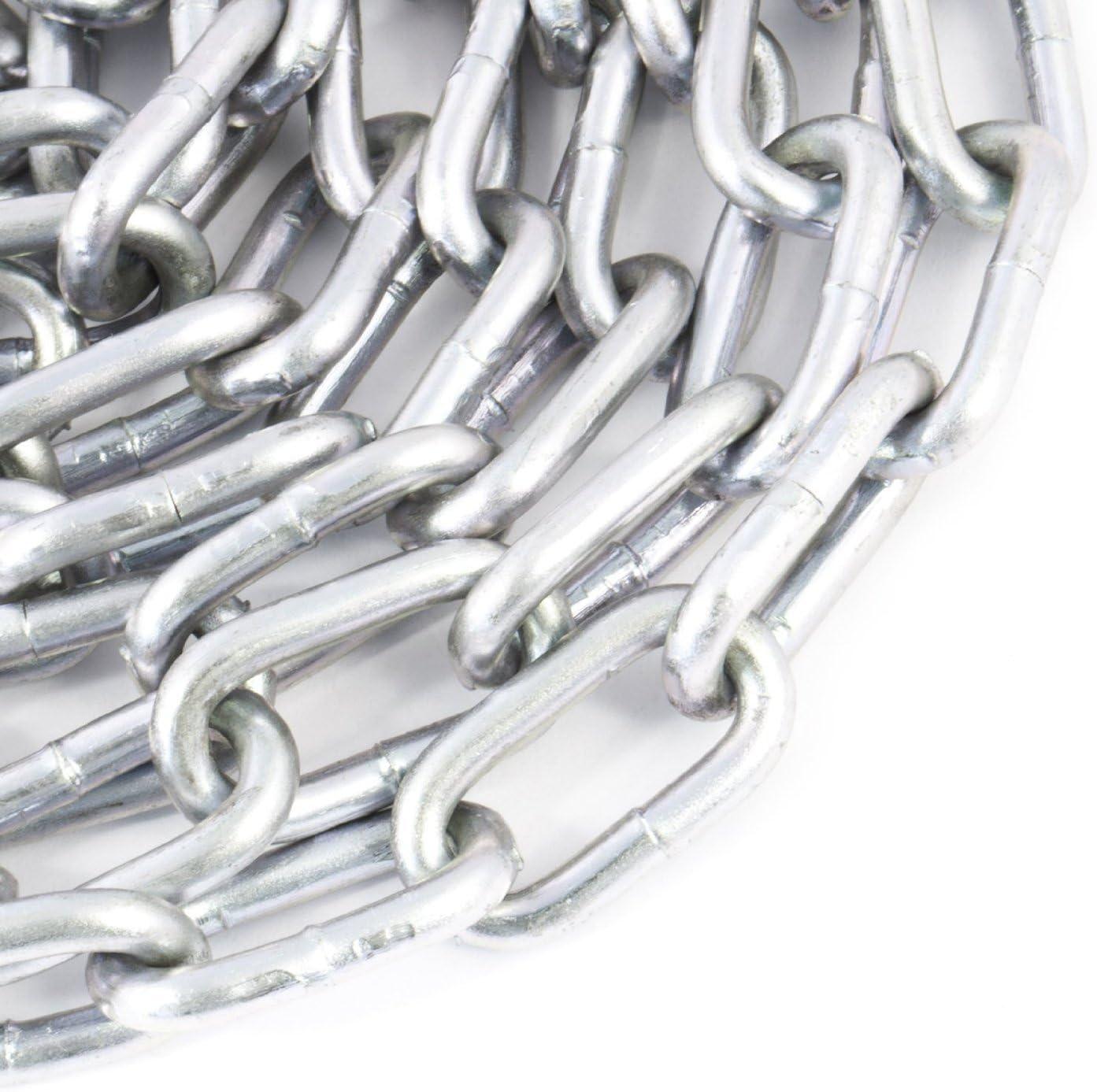 enlace corto Cadena acero galvanizado