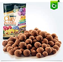 Organic XL Leca Clay Pebbles Grow Media - Orchids • Aquaponics • Aquaculture • Hydroponics - by Cz Garden Supply (2 LB - XL Clay Pebbles)