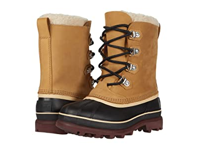 SOREL Cariboutm Stack Waterproof (Buff) Men