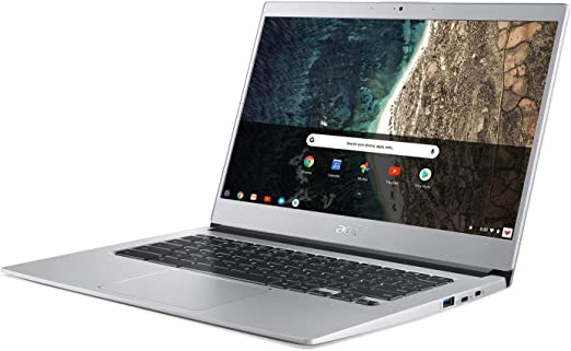 "Acer Chromebook 514, CB514-1HT-C6EV, Intel Celeron N3450, 14"" Full HD Touch  Display, 4GB LPDDR4, 64GB eMMC, Backlit Keyboard, Google Chrome :  Electronics - Amazon.com"