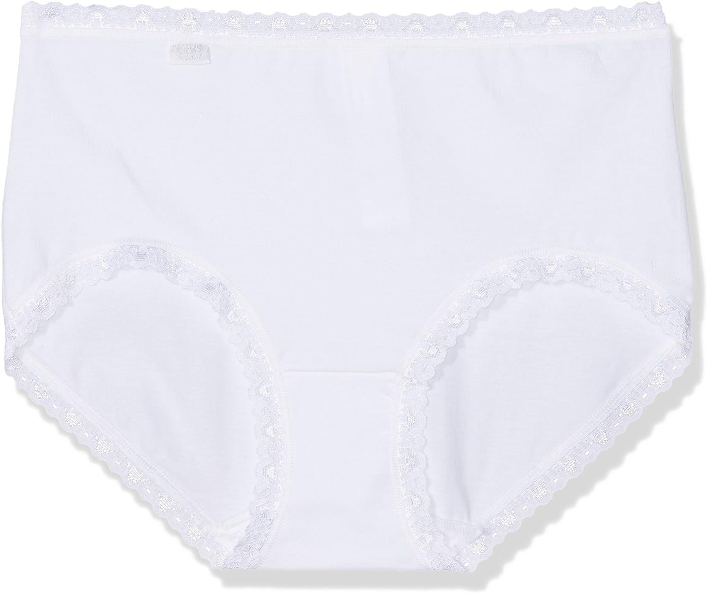 Midi Slip Sloggi 24//7 Cotton Lace Spar-Pack