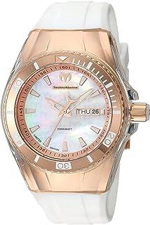 [テクノマリーン] TechnoMarine 腕時計 Technomarine Women's 'Cruise' Quartz Stainless Steel and Silicone Casual Watch, Color:White クォーツ TM-115326 レディース 【並行輸入品】