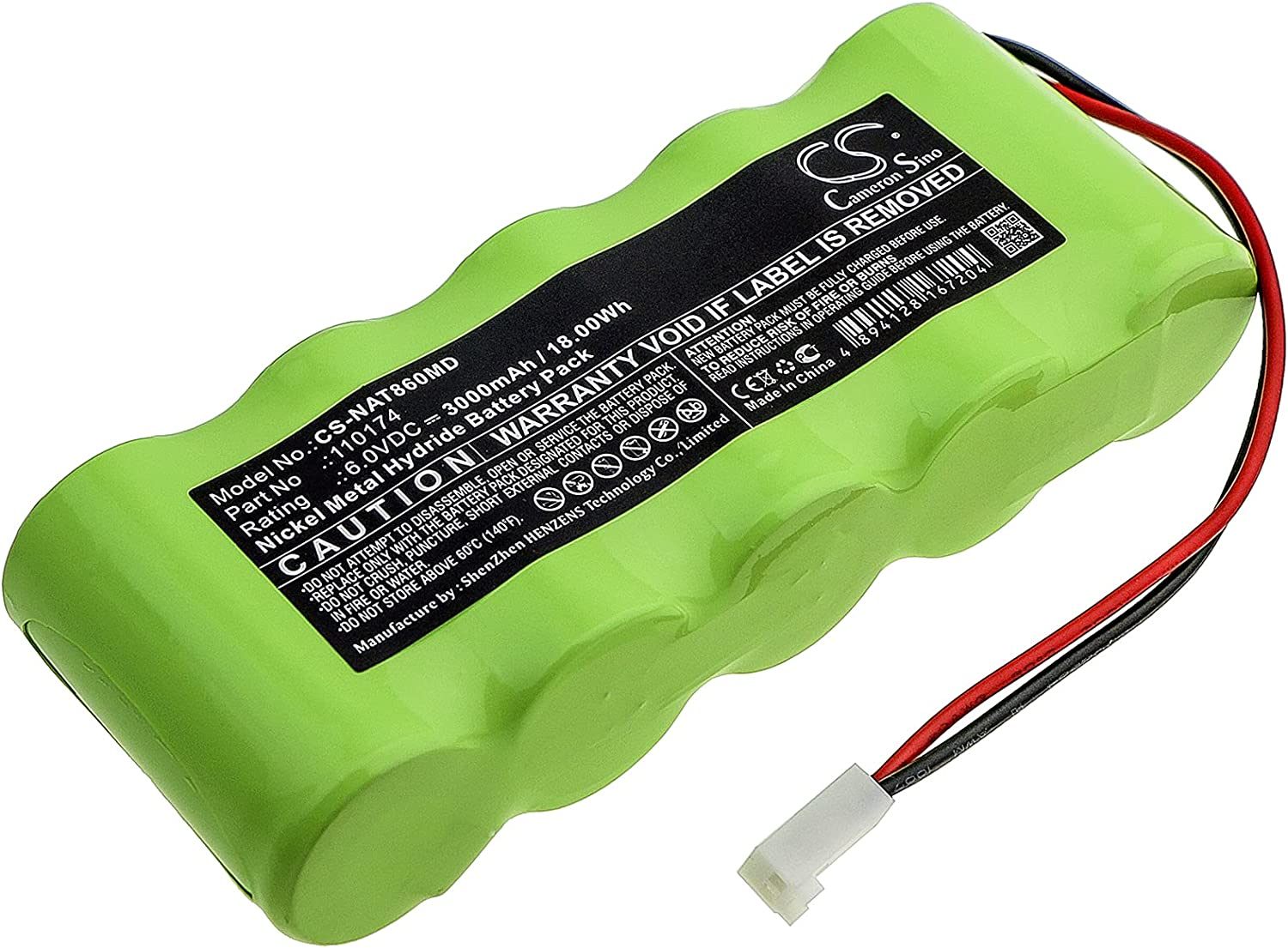 Battery Replacement Max 81% OFF for Special sale item NONIN Pulsoximt 110174 8600 Pulsoximter