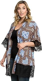 Kiyonna Women's Plus Size Shayla Chiffon Kimono
