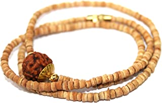 gold tulsi necklace