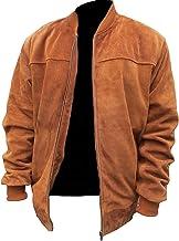 codice promozionale acdc3 53163 Amazon.it: Giacca renna pelle scamosciata anni 70 vintage