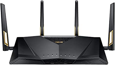 ASUS AX6000 WiFi 6 Gaming Router (RT-AX88U) - Dual Band Gigabit Wireless Router, 8 GB Ports,...
