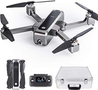 Potensic ドローン GPS搭載 折りたたみ式 2K HDカメラ付き 超音波/オプティカルフロー高度維持 最大20分飛行時間 ブラシレスモーター オートリターンモード 収...