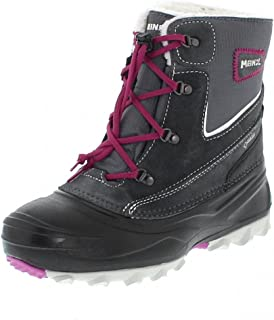 MEINDL Canadian Winter Boots Kinderschuhe Kinderstiefel anthrazi pink