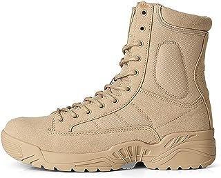 Men's shoes Bottes de Combat D'extérieur pour Hommes,Chaussures de Randonnée Légères Bottes Militaires Respirantes,Bottes ...