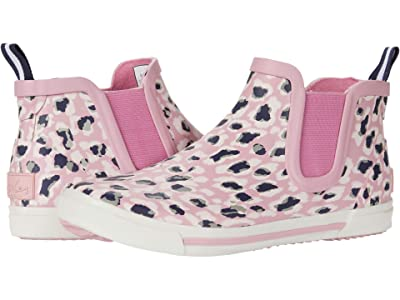Joules Kids Rainwell (Toddler/Little Kid/Big Kid) (Pink Leopard) Girl
