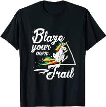 Unicorn T-Shirt Blaze Your Own Trail Magical Tee