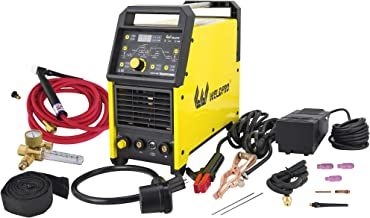 2020 Weldpro Digital TIG 200GD ACDC 200 Amp Tig/Stick Welder with Pulse CK 17 Worldwide Superflex Torch/with Trigger Switc...