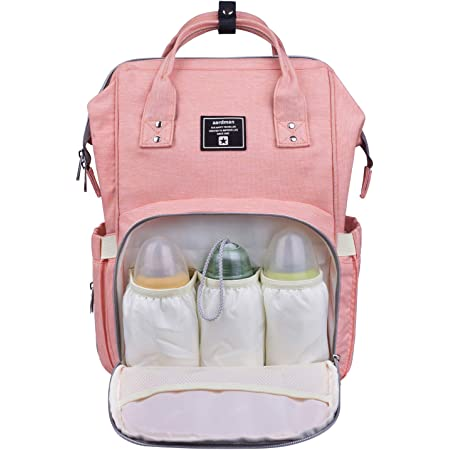 NHJYU Diaper Bag Backpack Winnie The Pooh Bear Multifunction Waterproof Travel Backpack Maternity Baby Nappy Changing Bags