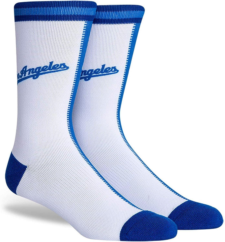 PKWY Unisex 1-Pack Dodgers Crew Socks