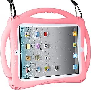 TopEsct iPad 2/3/4 Hülle Kinder, Anti Shock Stoßfest Griff Ständer Schutzhülle für Apple iPad 2nd Generation,iPad 3rd Generation,iPad 4th Generation (iPad 2/3/4, Rosa)