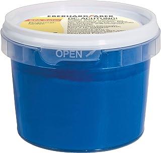 Eberhard Faber 578851 - farba do palców w pojemniczkach, 100 ml, niebieski ftalo