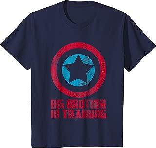 Kids Big Brother In Training T-Shirt, Big Bro Superhero Tshirt
