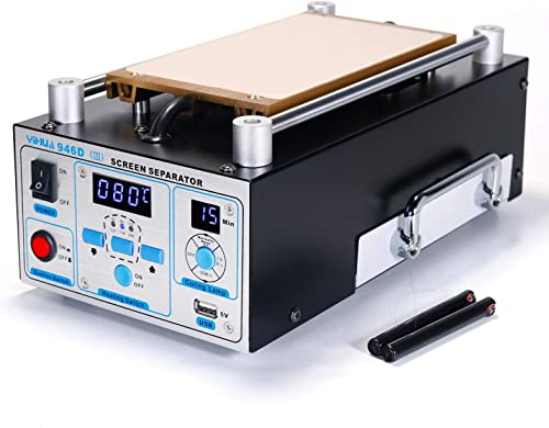 """high quality YIHUA 946D-III new arrival Digital LCD Screen Separator 5V 1A USB Power Supply & UV Curing Lamp with Built-in Long-Lasting Vacuum Pump for Mobile Phones & Smartphones °F /°C (19.8 cm x 11 cm/ 7.8"""" sale x 4.3"""" ±0.05) online"""