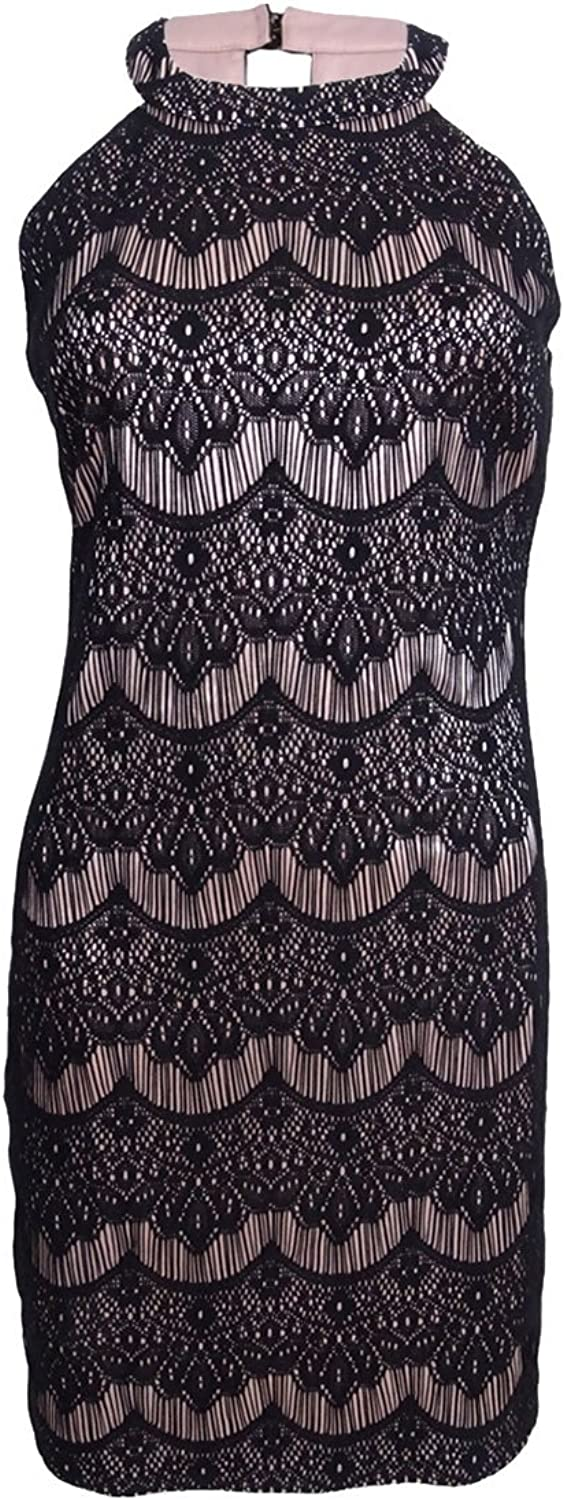 GUESS Womens Lace Dress Dress