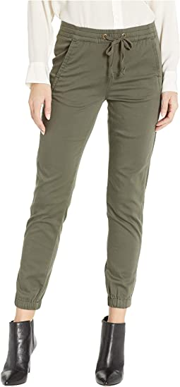 Caylee Soft Stretch Sateen Jogger