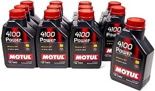 Motul 102773 4100 Power 15W50 Oil, 405.72 Fluid_Ounces