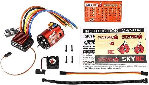Precio al por mayor y calidad confiable. Dailyinshop Tarjeta de Programa ESC SKYRC 4000KV 8.5T 8.5T 8.5T Sensorojo de Motor sin escobillas 60A para 1 10 Coche  ahorra hasta un 30-50% de descuento