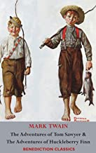 Download Book The Adventures of Tom Sawyer AND The Adventures of Huckleberry Finn (Unabridged. Complete with all original Illustrations) PDF