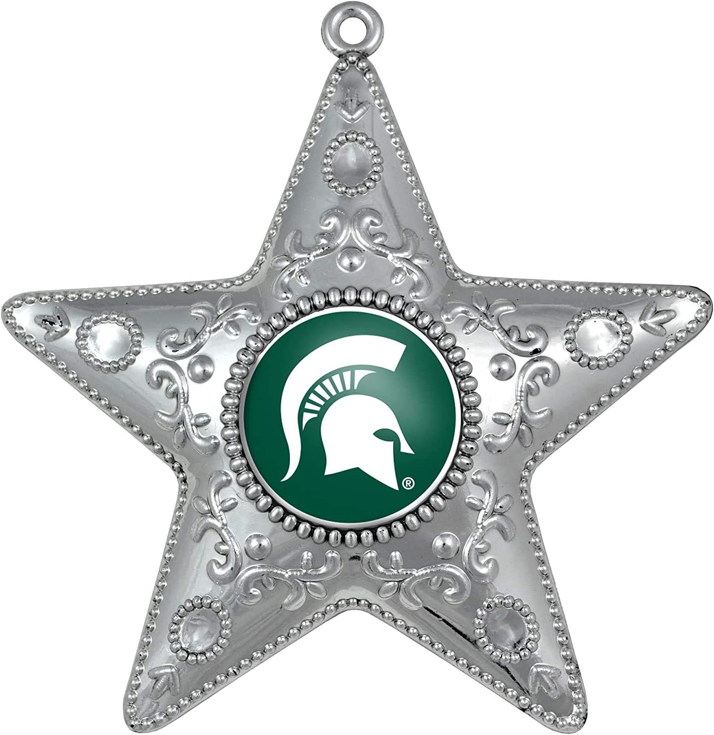 Topperscot by Boelter Brands NCAA Silver Star Ornament