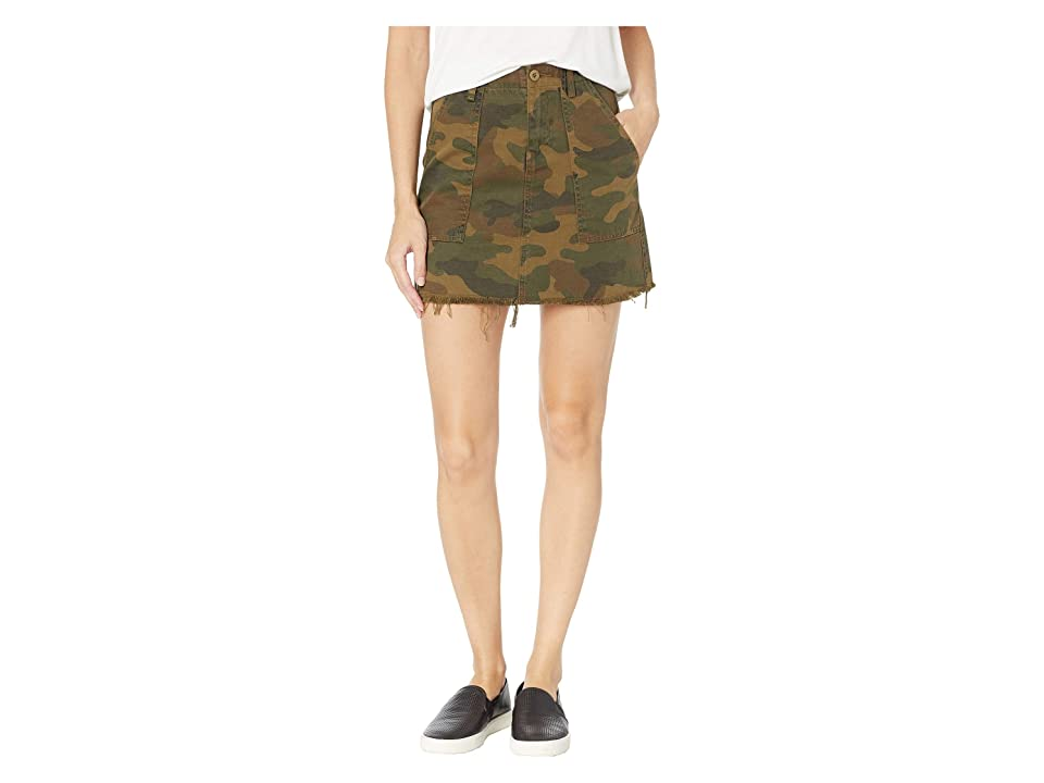 Blank NYC Camo Mini Skirt in Chain of Command (Chain of Command) Women
