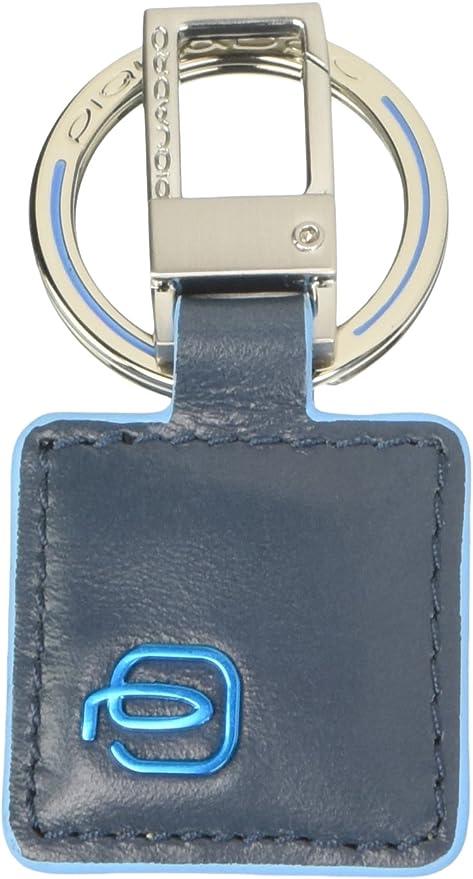 Marrone Piquadro PC3757B2//AR Blue Square Portachiavi