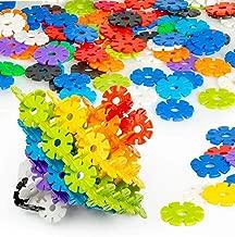 Play Platoon 2,400 Piece Interlocking Discs for Creative Building - Educational STEM Toys Set for Boys & Girls