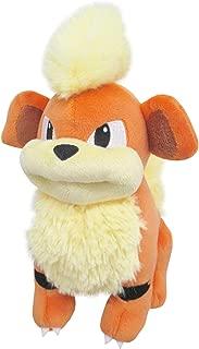 Sanei PP97 PokemonAll Star Collection Growlithe Plush, 7
