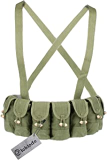 Loklode Chinese Military Surplus SKS Type 56 Semi Ammo Stripper Clips Chest Rig