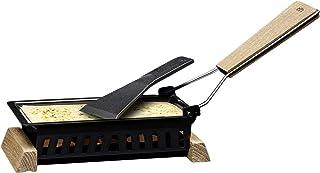 Cilio Käse-Party Raclette Formaggio, Holz, schwarz, 20 x 9