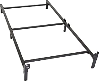twin bed frame with side rails