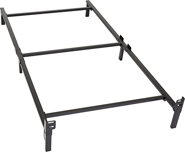Amazon Basics 6 Leg Support Metal Bed Frame Strong Support For Box Spring And Mattress Set Twin Size Bed
