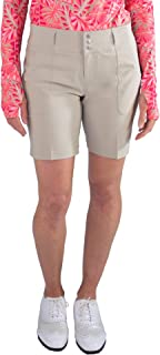 Jofit Apparel Women's Athletic Clothing Belted Shorts for Golf & Tennis