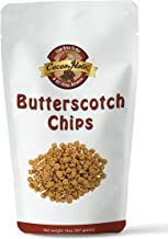 Cacaoholic Butterscotch Chips | Releasable Standup Pouch | 14 Ounces