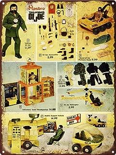 Yilooom 1972 Talking Gi Joe Mummy's Tomb Man Cave Metal Sign Repro 12