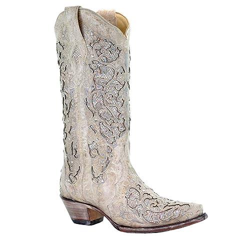 434de154b136d Wedding Cowgirl Boots: Amazon.com