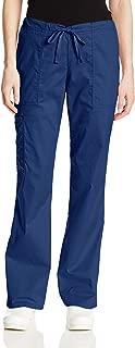 Women's Workwear Core Stretch Drawstring Cargo Scrubs Pant