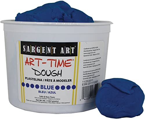 3LB ART TIME DOUGH - Blau