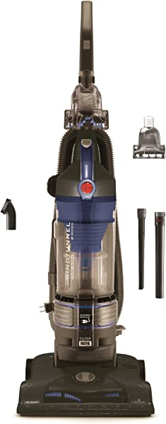 Hoover T Series WindTunnel Rewind Plus Bagless Corded Upright Vacuum UH70122PC Cobalt Blue