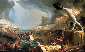 The Course of Empire: Destruction by Thomas Cole - 16