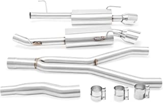 Mishimoto MMEXH-MUS4-15 Stainless Steel Ford Mustang EcoBoost Cat-Back Exhaust, 2015+