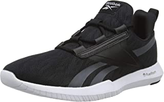 Reebok Men's Reago Pulse 2.0 Track Shoes, Black/White/Cold Grey 6