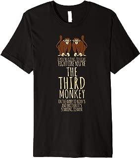 third monkey t shirt