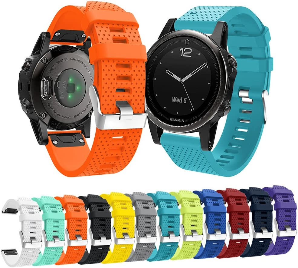 Senter Popular brand Replacement for Fenix 6s Selling rankings Bands S Width Soft Silicone 20mm